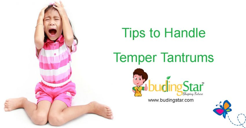 Tips to handle temper tantrums