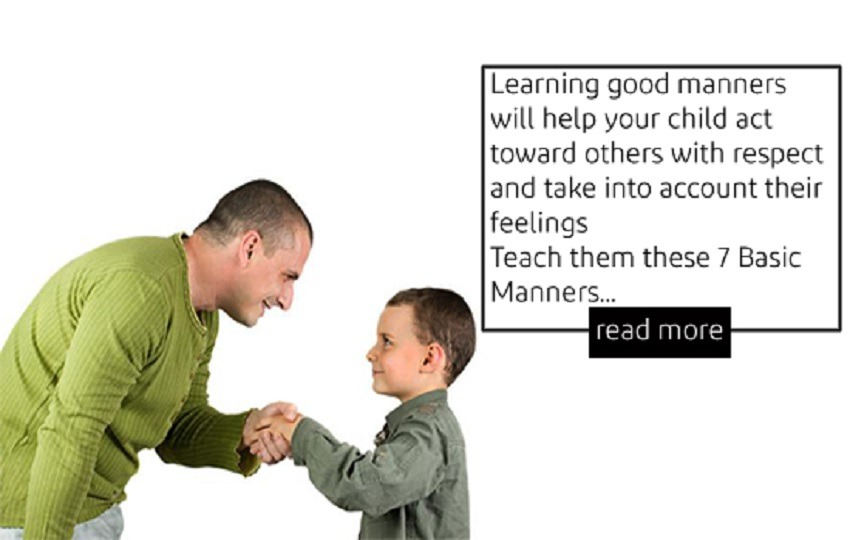 7 Basic Manners every Kid should know