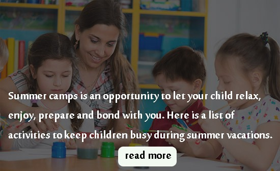 10 ACTIVITIES TO KEEP YOUR CHILDREN BUSY AT HOME DURING SUMMER VACATIONS