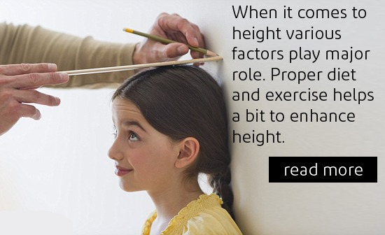Tips to increase your child's height