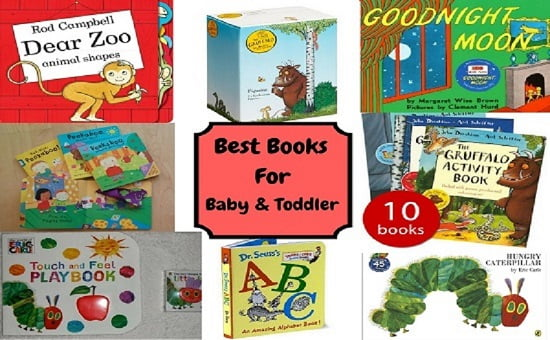 Best Books for Baby and Toddler