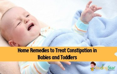 Home Remedies for Constipation in Babies and Toddlers