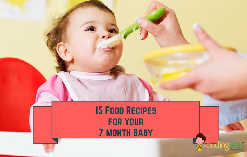 7 Month Baby Food Recipes