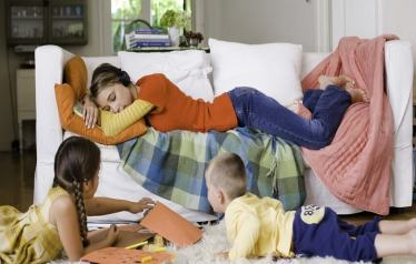 To all the exhausted mommies, take a break. You are doing enough!
