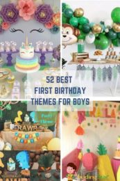 Best First Birthday themes for Boys