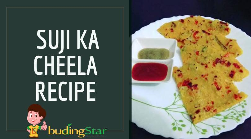 Suji Ka Cheela Recipe