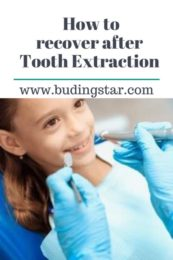 how to recover after tooth extraction