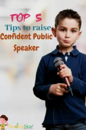 Tips to Raise a Confident Public Speaker